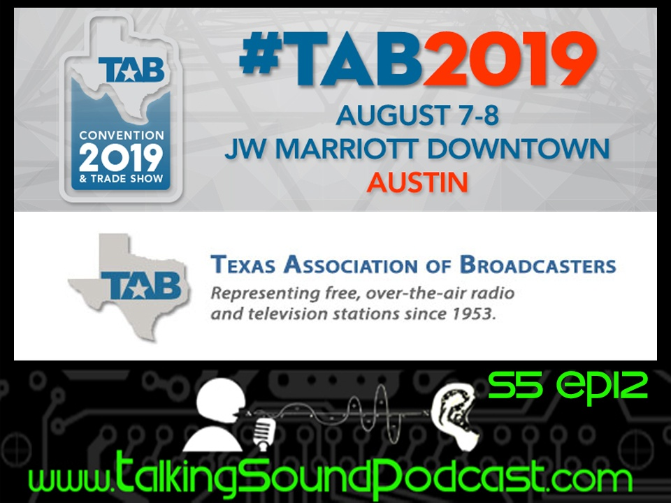 Talking Sound PodcastTalking Sound S5 Ep12: New Tech at the Texas